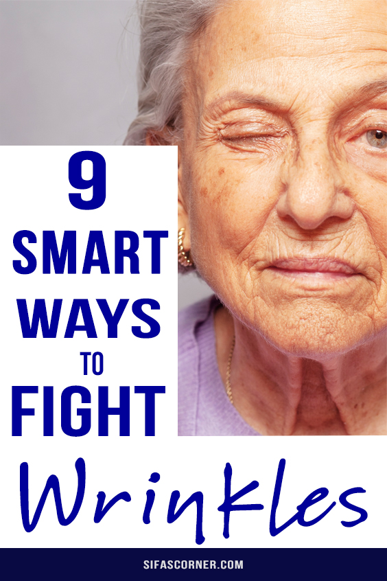 how to fight wrinkles