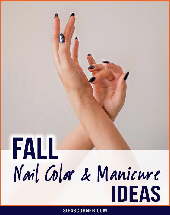 Fall Winter Nail Manicure Ideas
