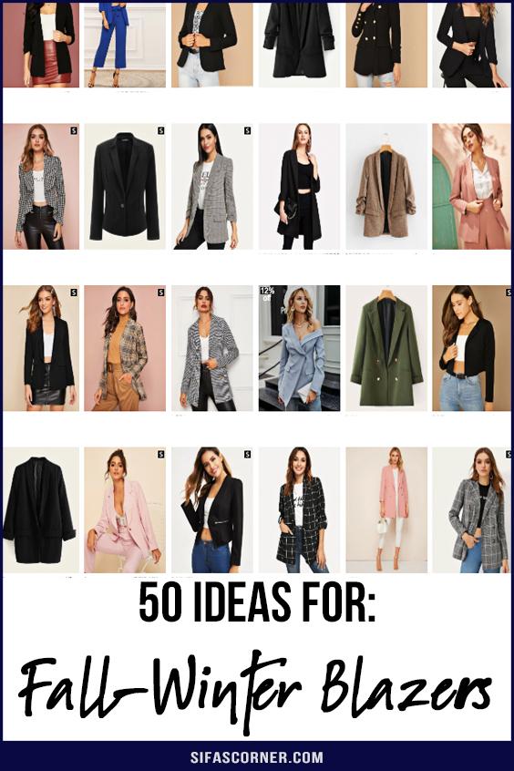 women winter coats blazers