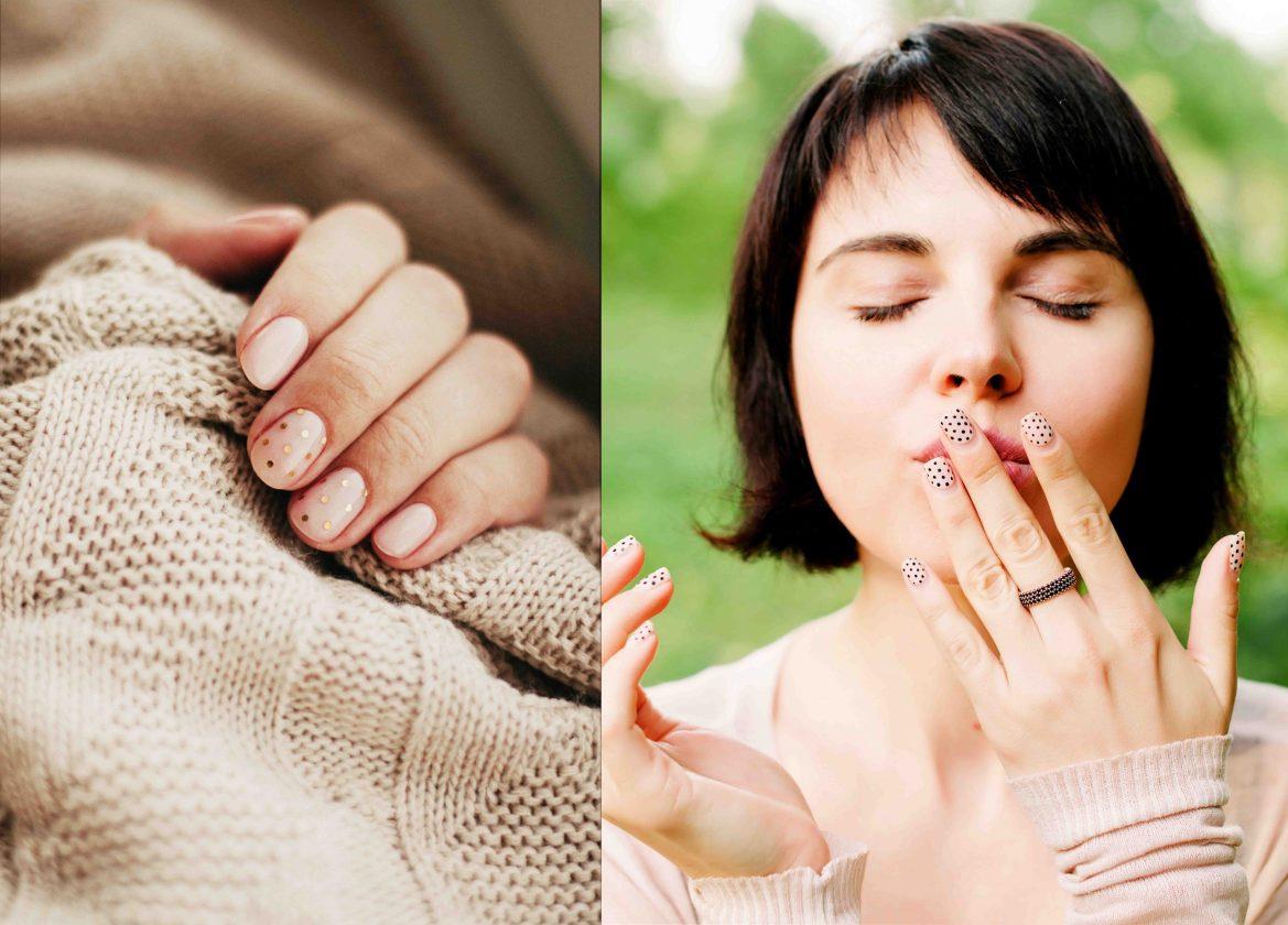 polka dot manicure ideas