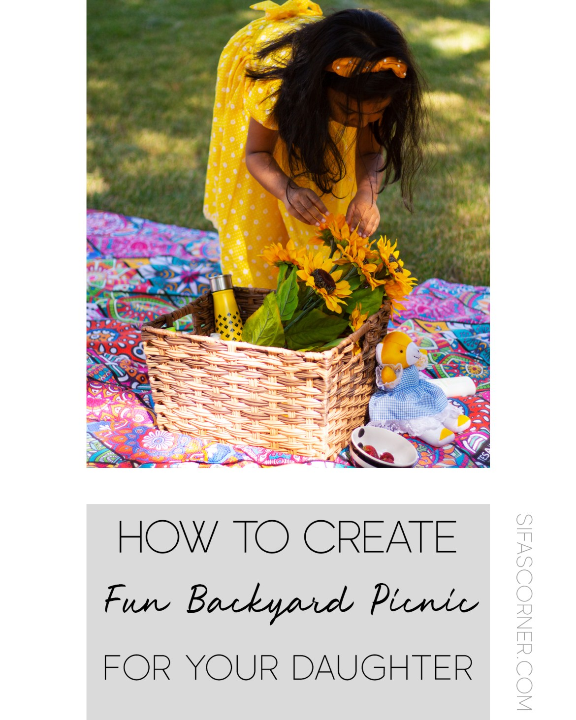 how to have Fun Backyard Party with daughter