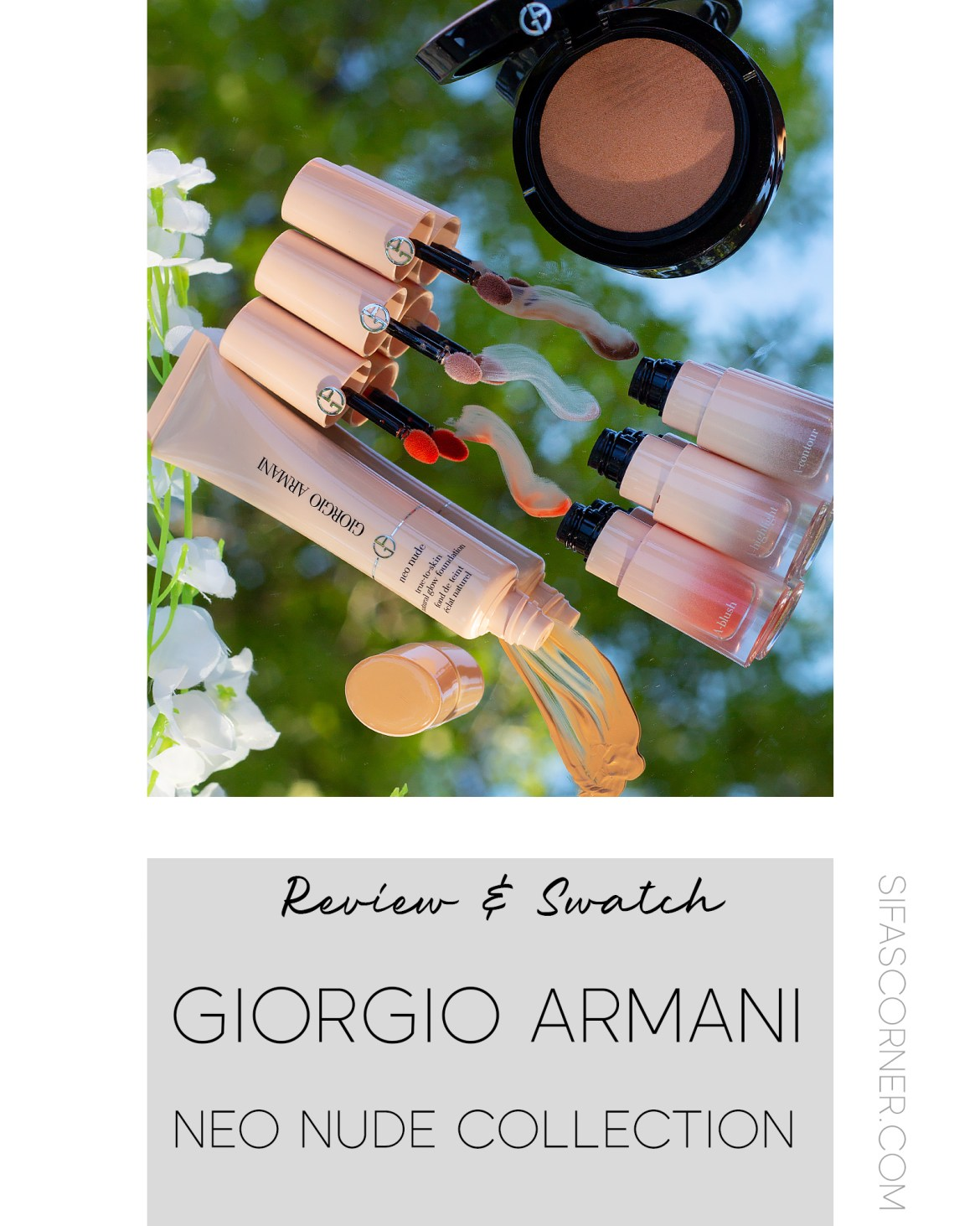 Giorgio Armani Neonude collection Review