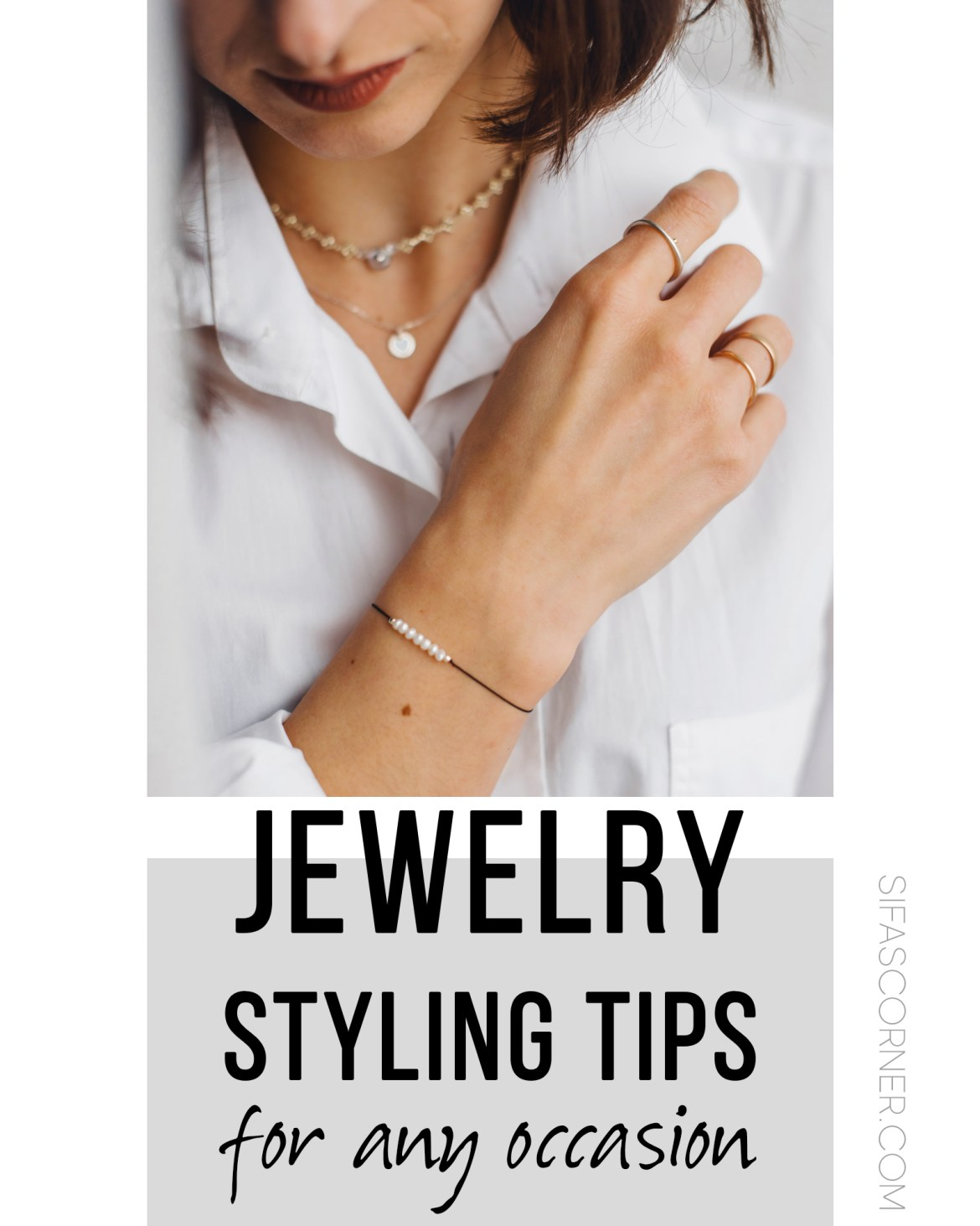 jewelry styling tips