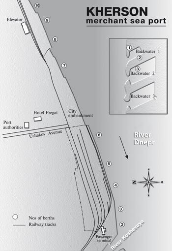 Kherson Sea Port scheme