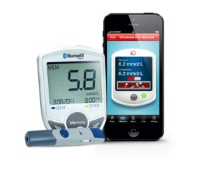 Portable Bluetooth Blood Glucose Meter