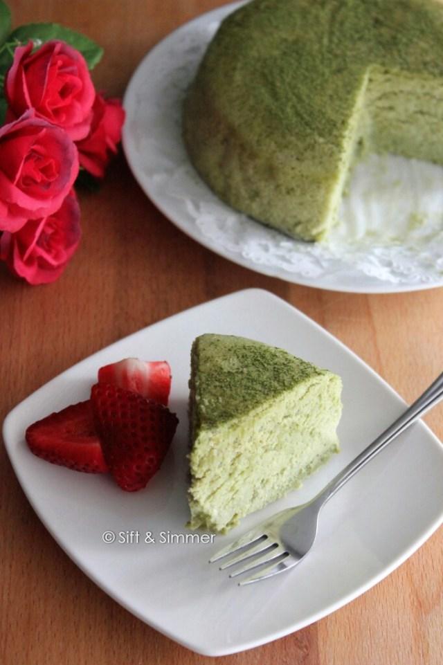 Matcha Cotton Cheesecake