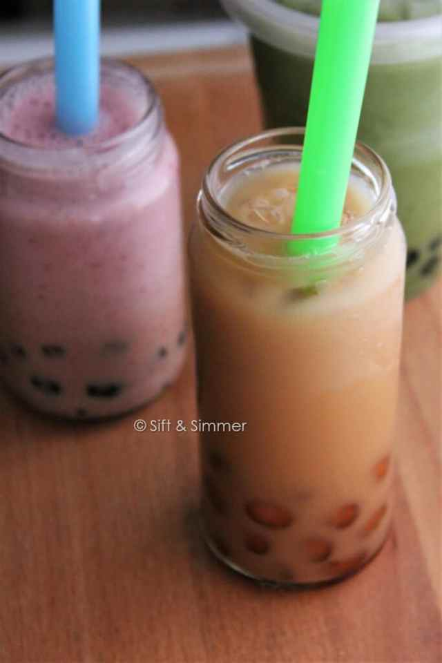 Tapioca Pearls Bubble Tea