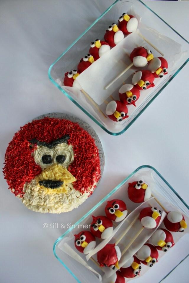 Angry Bird Cake Pop 4