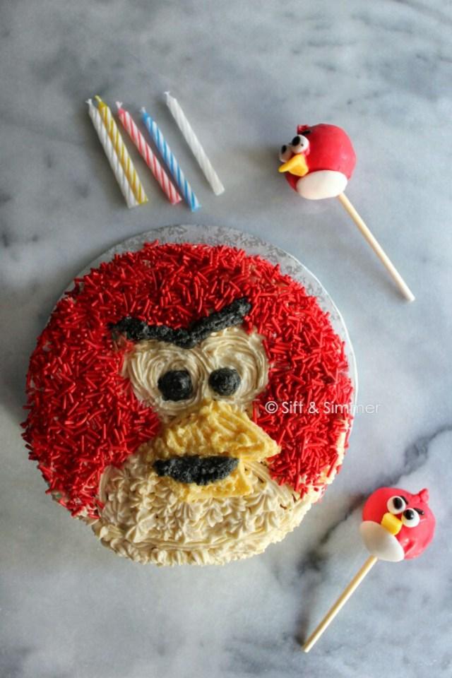 Angry Bird Cake Pop 6