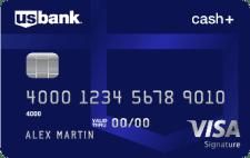 US Bank Cash+ Visa Signature