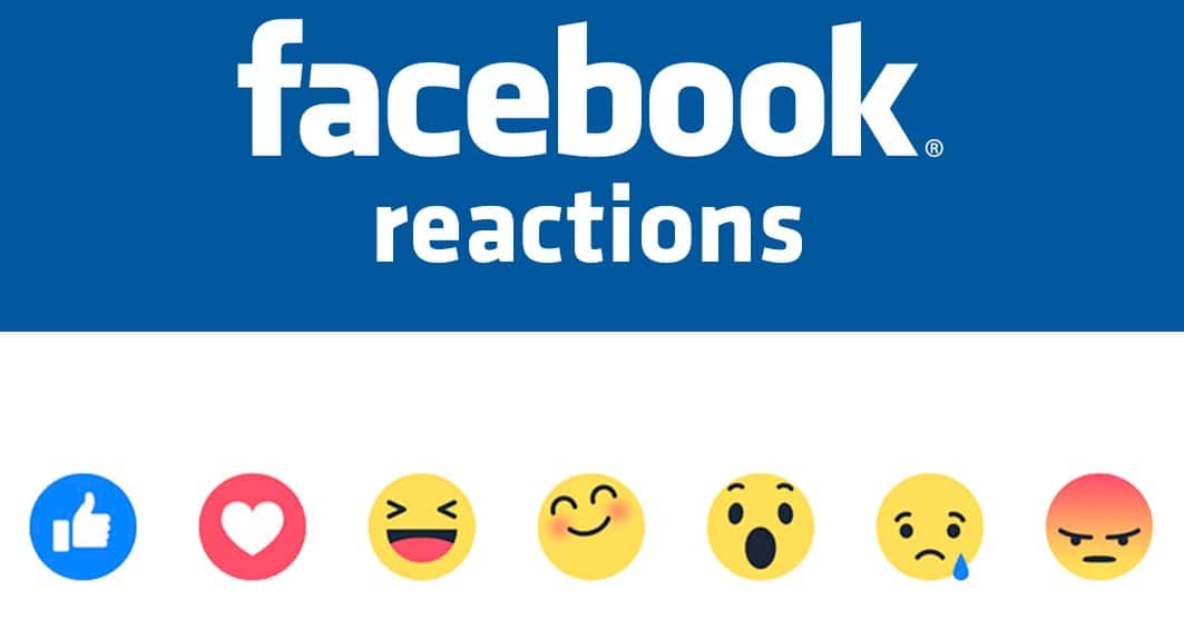 How are likes counted with Facebook reactions?
