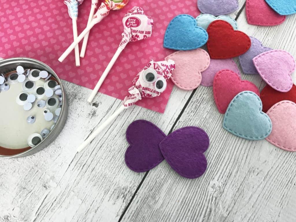 Valentine Sucker Butterflies
