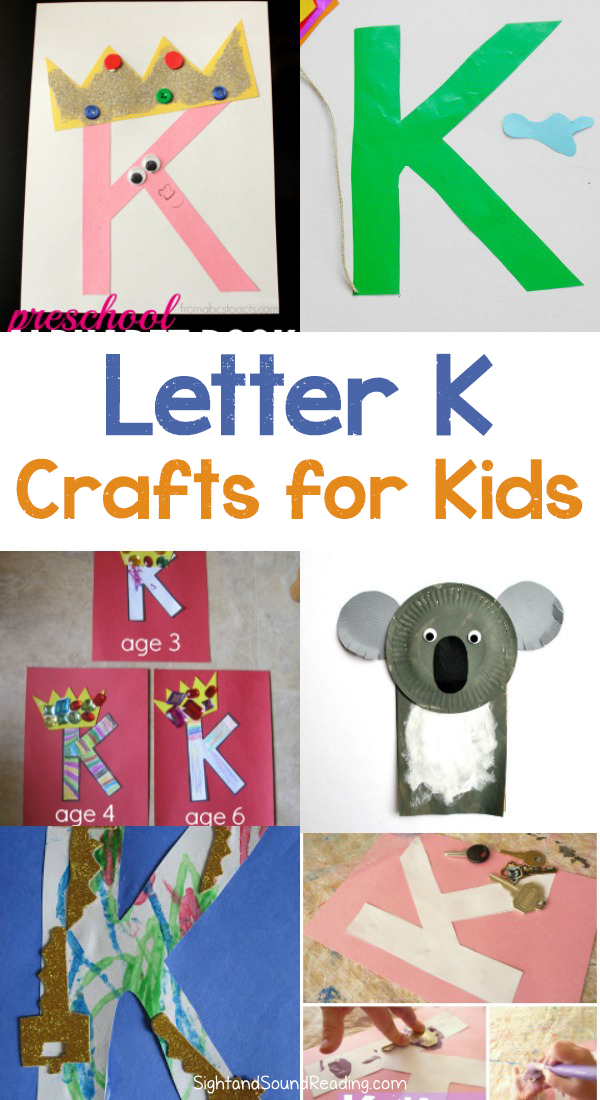 Candies that start with the letter k come in many different shapes, sizes and flavors. 20 Letter K Crafts For Preschool Or Kindergarten