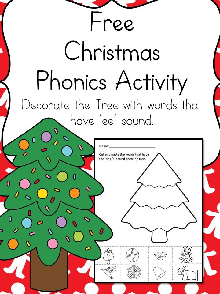 Christmas Word Family Worksheet Make Learning Fun