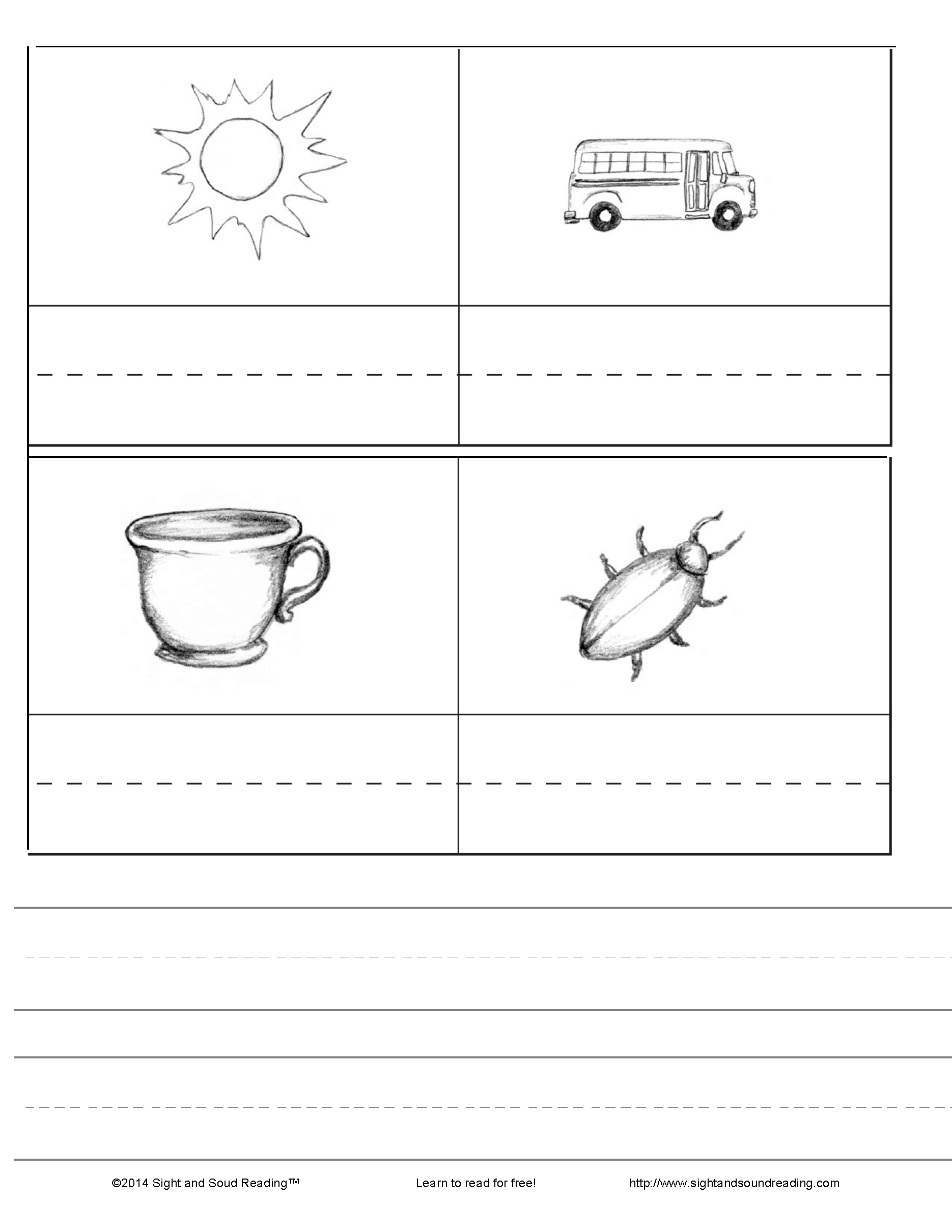 Cvc Worksheets