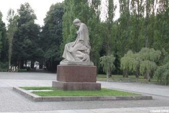 Soviet Monument Ehrenmal Treptower Park Berlin