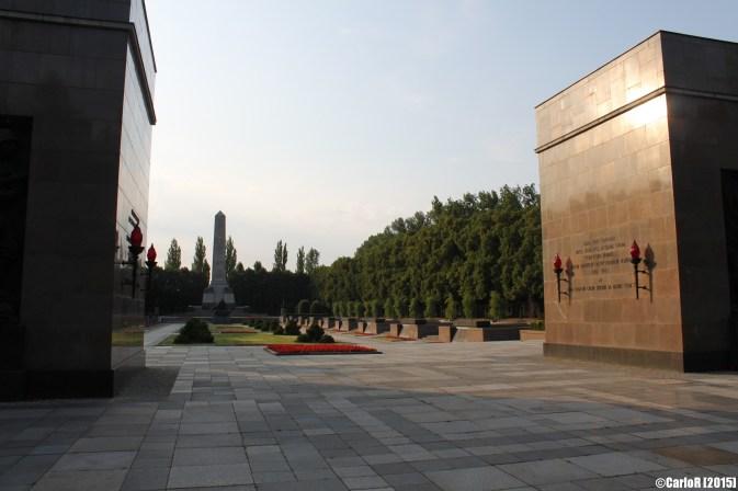 Soviet Monument Ehrenmal Schoenholzer Heide Berlin