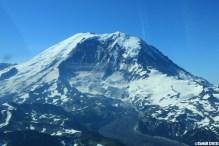 Mount Rainier Washington State Fly Seattle Scenic Cessna 210
