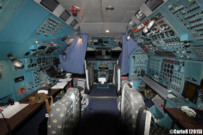 Antonov 225 Mriya Cockpit