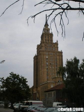 Stalin's Skyscraper Riga