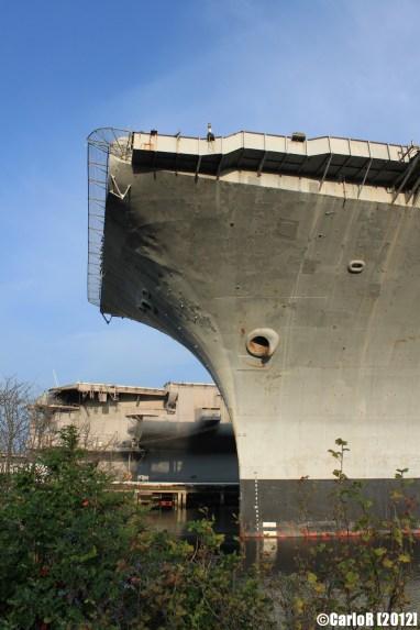 Bremerton Shipyard Fleet USS Independence Kitty Hawk