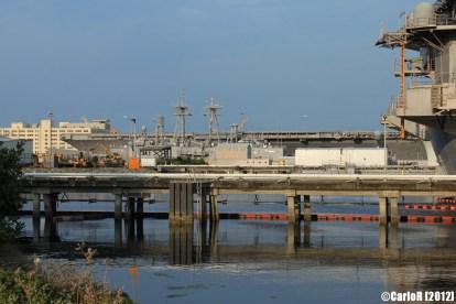 Bremerton Shipyard Fleet USS Kitty Hawk John C. Stennis
