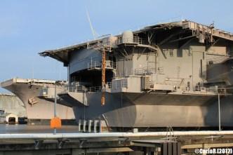 Bremerton Shipyard Fleet USS Kitty Hawk Constellation Ranger