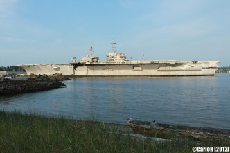 Bremerton Shipyard Fleet USS Kitty Hawk Independence