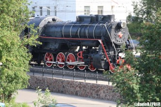 Murmansk Railway Steam Engine
