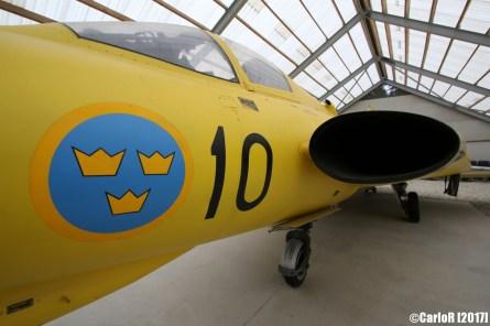SAAB 35 Draken Swedish Air Force