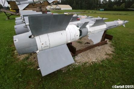 Surface-to-Air Missile (SAM) Russian SA-3