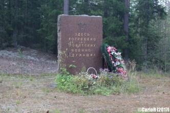 Salpa Line Prison Camp Memorial Soviet Syyspohja