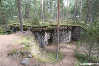 Salpa Line Bunker Site Toikkala Lappeenranta
