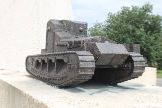 Tank Corps Memorial Pozieres Somme WWI