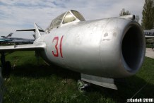 State Aviation Museum Ukraine Kiev MiG-15