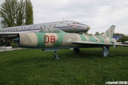 State Aviation Museum Ukraine Kiev Sukhoi Su-7