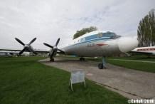 State Aviation Museum Ukraine Kiev Ilyushin Il-18