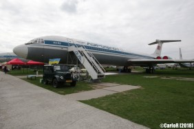 State Aviation Museum Ukraine Kiev Ilyushin Il-62
