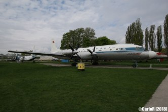 State Aviation Museum Ukraine Kiev Ilyushin Il-18