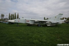 State Aviation Museum Ukraine Kiev Sukhoi Su-24