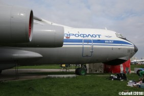 State Aviation Museum Ukraine Kiev Ilyushin Il-76