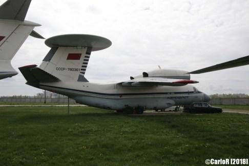 State Aviation Museum Ukraine Kiev Antonov An-71