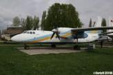 State Aviation Museum Ukraine Kiev Antonov An-24