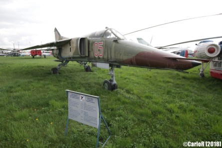 State Aviation Museum Ukraine Kiev MiG-27