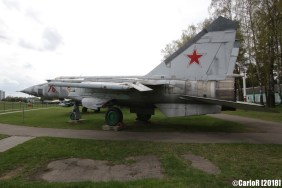 Museum of Aviation Technology Minsk Belarus Air Museum MiG-25
