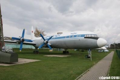 Museum of Aviation Technology Minsk Belarus Air Museum Ilyushin Il-18