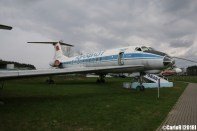 Museum of Aviation Technology Minsk Belarus Air Museum Tupolev Tu-134