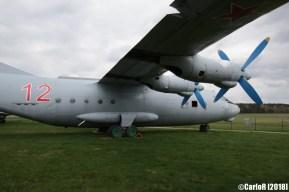Museum of Aviation Technology Minsk Belarus Air Museum Antonov An-12