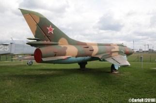Museum of Aviation Technology Minsk Belarus Air Museum Sukhoi Su-17