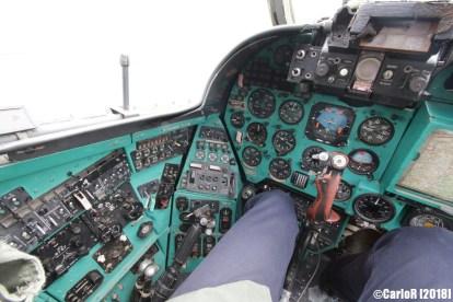 Museum of Aviation Technology Minsk Air Museum Mil Mi-24 Cockpit